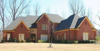4 Bed, 3 Bath, 4673 Square Foot House Plan - #053-02549