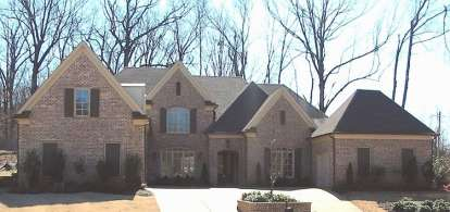 4 Bed, 4 Bath, 5011 Square Foot House Plan - #053-02565