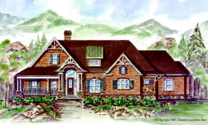 3 Bed, 2 Bath, 2282 Square Foot House Plan - #699-00035