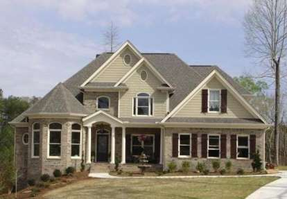 4 Bed, 3 Bath, 2253 Square Foot House Plan - #036-00102