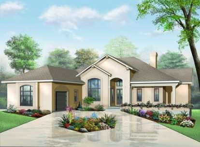 3 Bed, 2 Bath, 2620 Square Foot House Plan - #034-00642