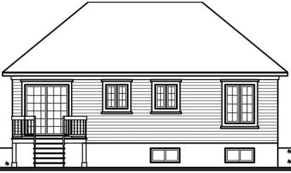 Victorian House Plan #034-00684 Elevation Photo
