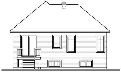Victorian House Plan #034-00689 Elevation Photo