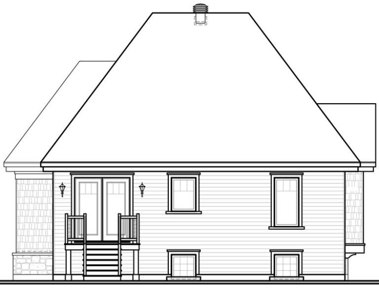 Victorian House Plan #034-00696 Elevation Photo