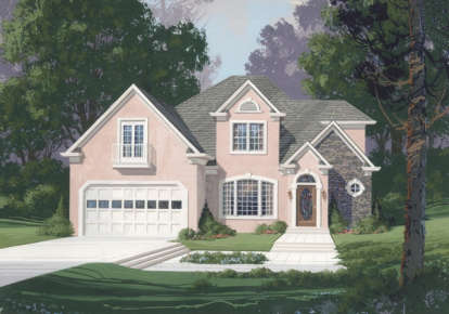 3 Bed, 2 Bath, 2479 Square Foot House Plan - #036-00112