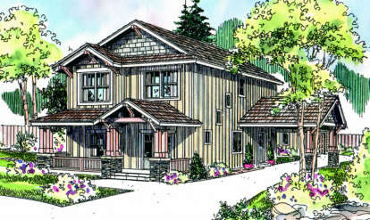3 Bed, 2 Bath, 2119 Square Foot House Plan - #035-00331