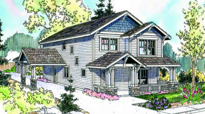 3 Bed, 2 Bath, 2129 Square Foot House Plan - #035-00332
