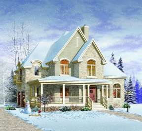 Country House Plan #034-00839 Additional Photo