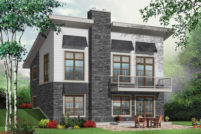 3 Bed, 2 Bath, 1759 Square Foot House Plan - #034-00900