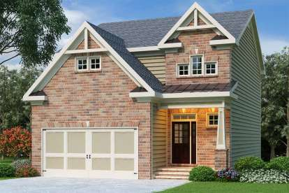 3 Bed, 3 Bath, 1949 Square Foot House Plan - #009-00095