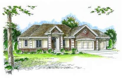 3 Bed, 2 Bath, 1951 Square Foot House Plan - #963-00063