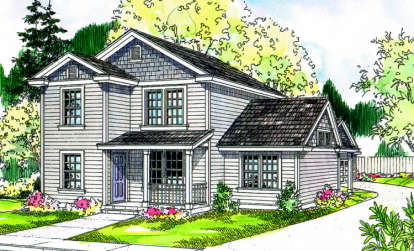 3 Bed, 2 Bath, 1673 Square Foot House Plan - #035-00340