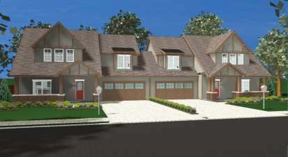 4 Bed, 2 Bath, 1827 Square Foot House Plan - #963-00098