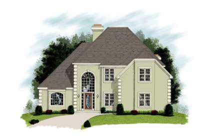 3 Bed, 2 Bath, 3032 Square Foot House Plan - #036-00131