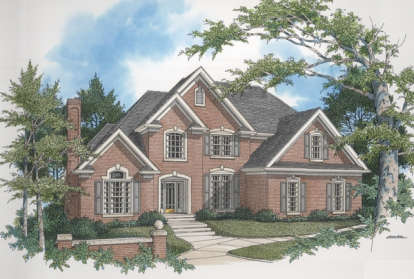 4 Bed, 3 Bath, 2954 Square Foot House Plan - #036-00134