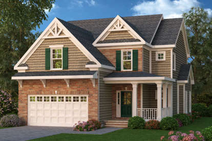 4 Bed, 2 Bath, 2242 Square Foot House Plan - #009-00097