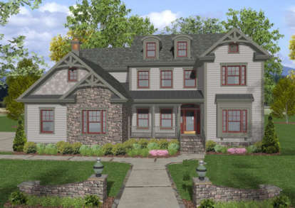 4 Bed, 4 Bath, 2953 Square Foot House Plan - #036-00137