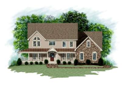 3 Bed, 3 Bath, 3074 Square Foot House Plan - #036-00142