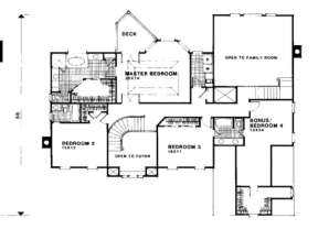 First Floor for House Plan #036-00154