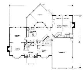 Second Floor for House Plan #036-00154