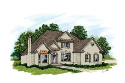 3 Bed, 3 Bath, 3512 Square Foot House Plan - #036-00157