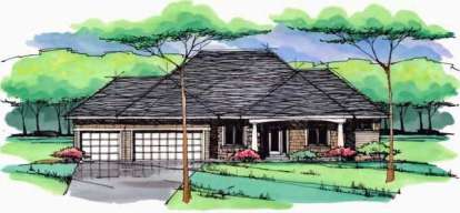 3 Bed, 2 Bath, 3241 Square Foot House Plan - #098-00227