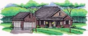 Country House Plan #098-00228 Elevation Photo