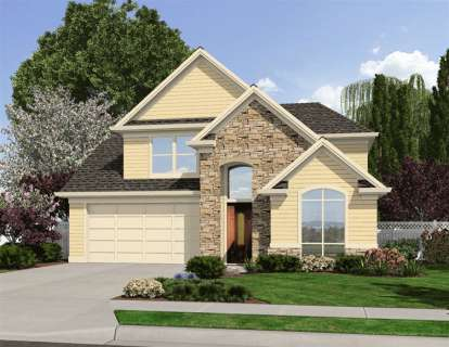4 Bed, 2 Bath, 2632 Square Foot House Plan - #2559-00042