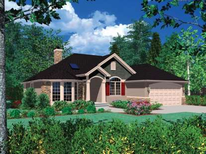 3 Bed, 2 Bath, 1693 Square Foot House Plan - #2559-00058