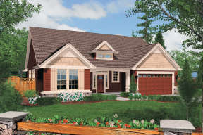 Country House Plan #2559-00092 Elevation Photo