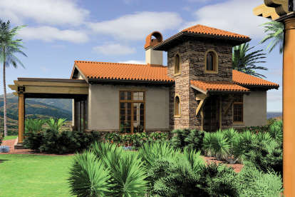 1 Bed, 1 Bath, 972 Square Foot House Plan #2559-00102