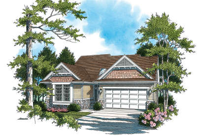 4 Bed, 3 Bath, 2553 Square Foot House Plan - #2559-00125