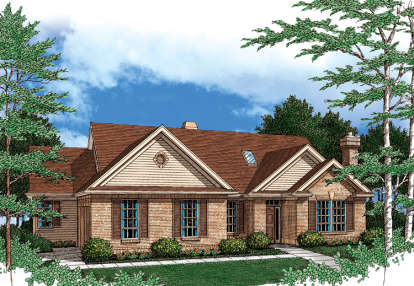 3 Bed, 2 Bath, 2394 Square Foot House Plan - #2559-00130