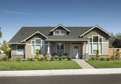 3 Bed, 2 Bath, 2218 Square Foot House Plan - #2559-00135