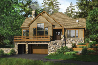 3 Bed, 3 Bath, 3137 Square Foot House Plan - #2559-00172