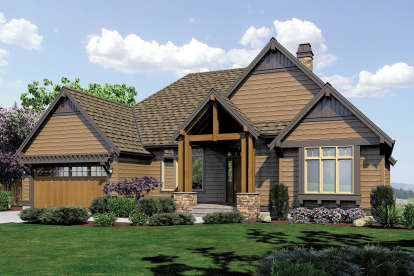 4 Bed, 4 Bath, 3565 Square Foot House Plan - #2559-00173