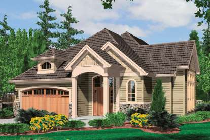 2 Bed, 2 Bath, 1905 Square Foot House Plan - #2559-00203