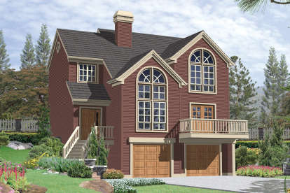 3 Bed, 2 Bath, 1835 Square Foot House Plan - #2559-00223