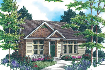 3 Bed, 2 Bath, 1850 Square Foot House Plan - #2559-00270