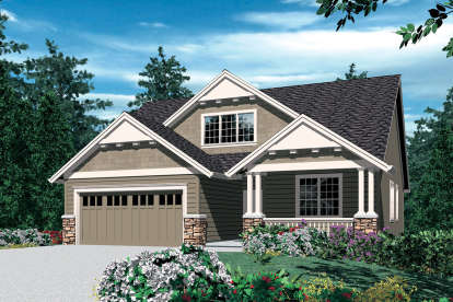 4 Bed, 2 Bath, 1866 Square Foot House Plan - #2559-00272