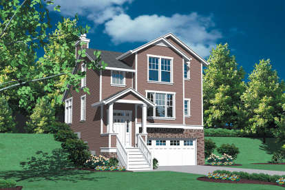 2 Bed, 2 Bath, 1635 Square Foot House Plan - #2559-00279