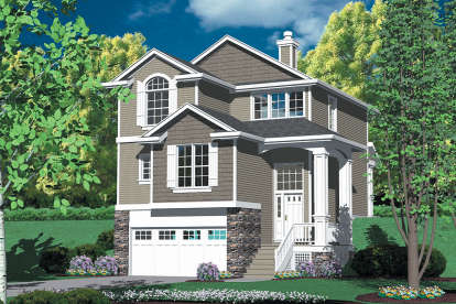 2 Bed, 2 Bath, 1625 Square Foot House Plan - #2559-00282