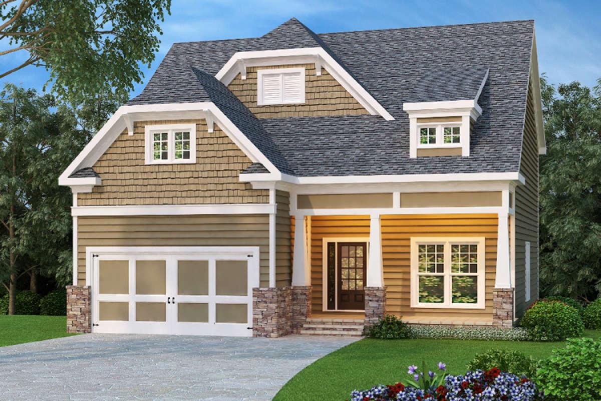 Narrow  Lot  Plan  2 533 Square Feet 4 Bedrooms 3