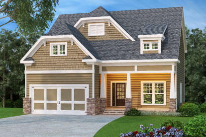 4 Bed, 3 Bath, 2533 Square Foot House Plan - #009-00103