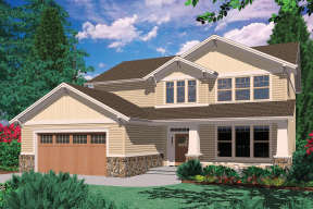 Craftsman House Plan #2559-00350 Elevation Photo