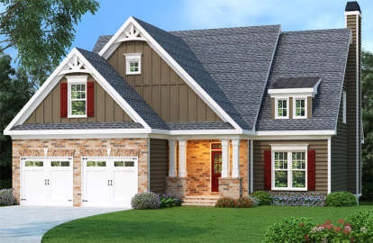 3 Bed, 2 Bath, 2131 Square Foot House Plan - #009-00104