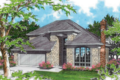3 Bed, 2 Bath, 2133 Square Foot House Plan - #2559-00480