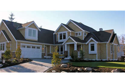 3 Bed, 4 Bath, 3681 Square Foot House Plan - #2559-00515