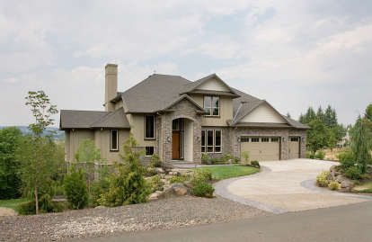 3 Bed, 2 Bath, 3570 Square Foot House Plan - #2559-00548