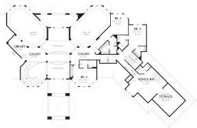 Second Floor for House Plan #2559-00564